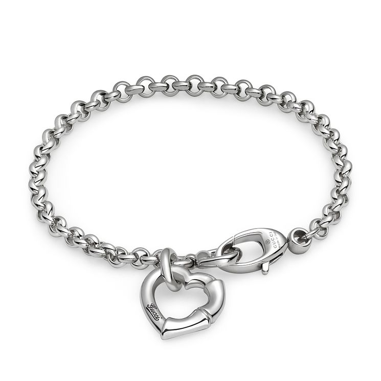 Gucci Sterling Silver bamboo bracelet - Product number 2926601