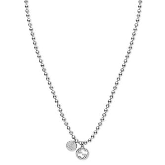 Gucci Boule sterling silver GG necklace - Product number 2926660