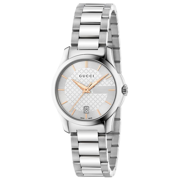 Gucci G-Timeless ladies' stainless steel bracelet watch - Product number 2926865