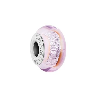 Chamilia Silver Shade light pink Murano glass bead - Product number 2930773