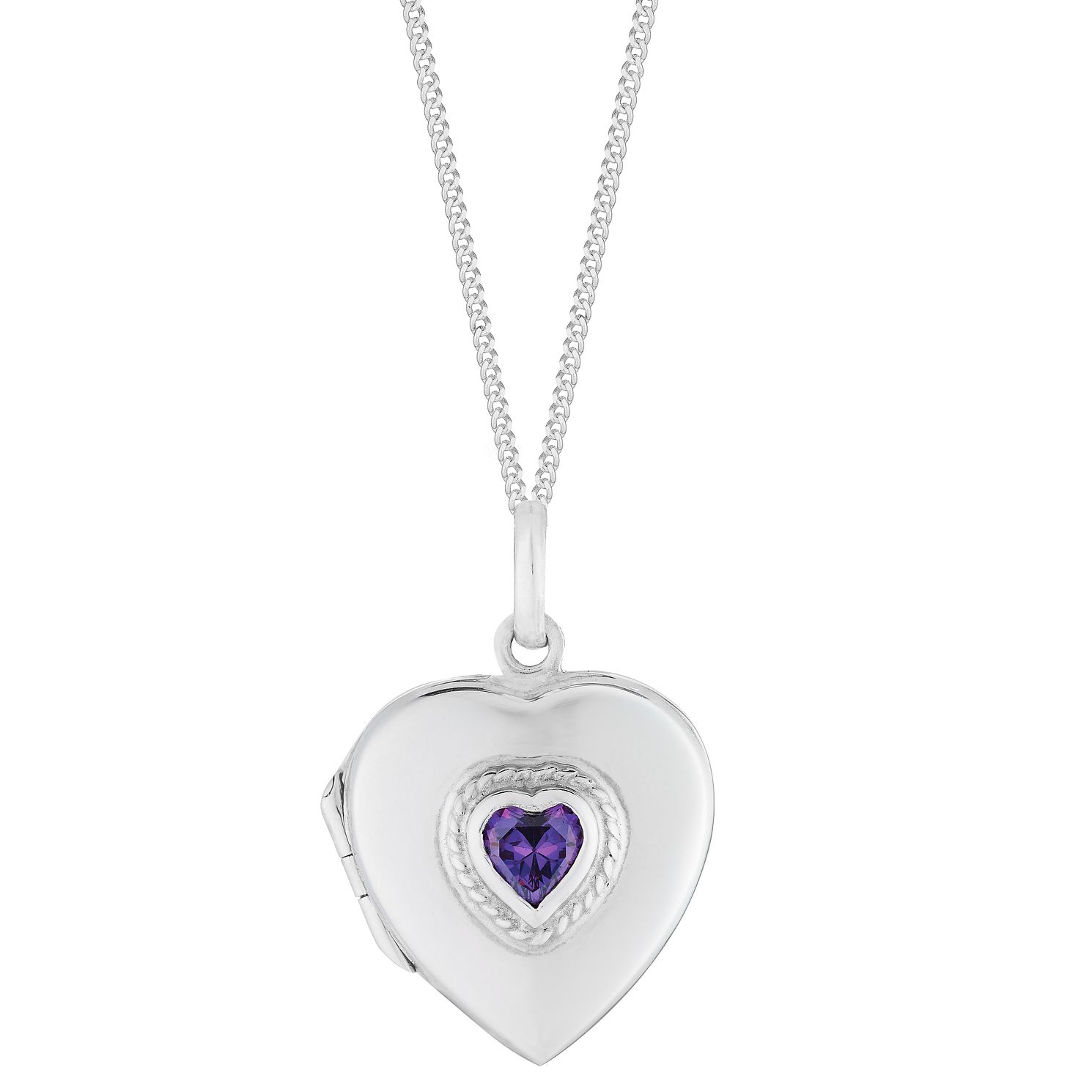 heart locket isabel lockets amethyst product burst jewelry purple