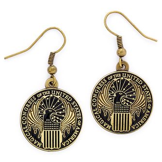 Harry Potter Fantastic Beasts Magic Congress Drop Earrings - Product number 2940116