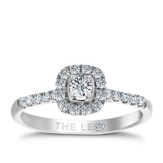 Leo Diamond 18ct white gold 0.33ct diamond ring - Product number 2941104