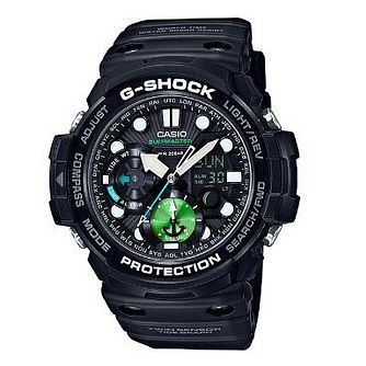 Casio Gulfmaster Men's Resin Black Strap Watch. - Product number 2941473