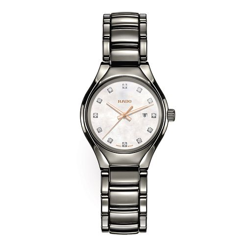 Rado True ladies' plasma ceramic stainless steel watch - Product number 2941953