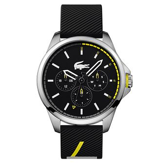 Lacoste Capbreton Men's Black Silicone Strap Watch - Product number 2942224