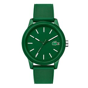 Lacoste 12.12 Men's Green Silicone Strap Watch - Product number 2942283