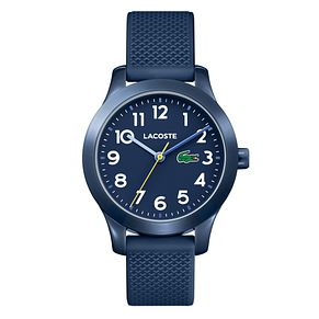 Lacoste 12.12 Children's Blue Silicone Strap Watch - Product number 2942305