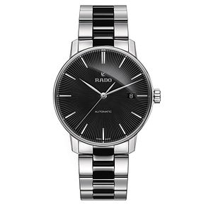 Rado men's stainless steel and black ceramic bracelet watch - Product number 2944057
