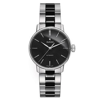 Rado ladies' stainless steel black ceramic bracelet watch - Product number 2944065