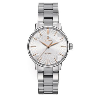 Rado ladies' stainless steel and ceramic bracelet watch - Product number 2944103