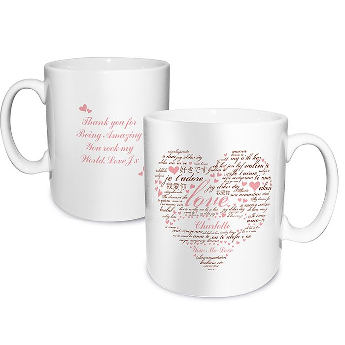 Personalised I Love You Mug - Product number 2949709
