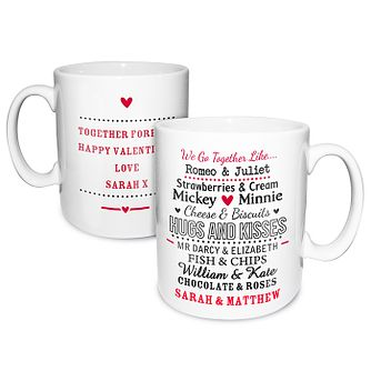 Personalised Couples Mug - Product number 2949849