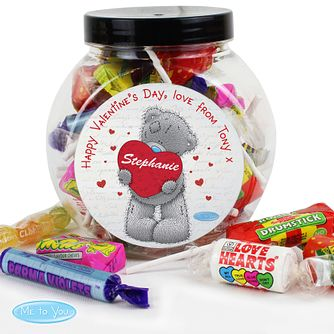 Personalised Me To You Big Heart Sweet Jar - Product number 2950081