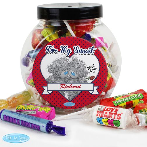 Personalised Me to You Couple Sweet Jar - Product number 2950103