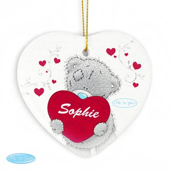 Personalised Me to You Big Heart Ceramic Heart Decoration - Product number 2950162