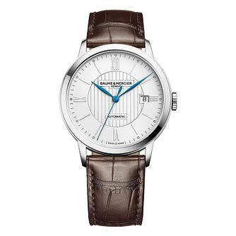 Baume & Mercier Classima men's stainless steel strap watch - Product number 2951304