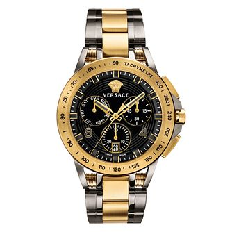 Versace Sport Tech Men's Two-Tone Bracelet Watch - Product number 2951940