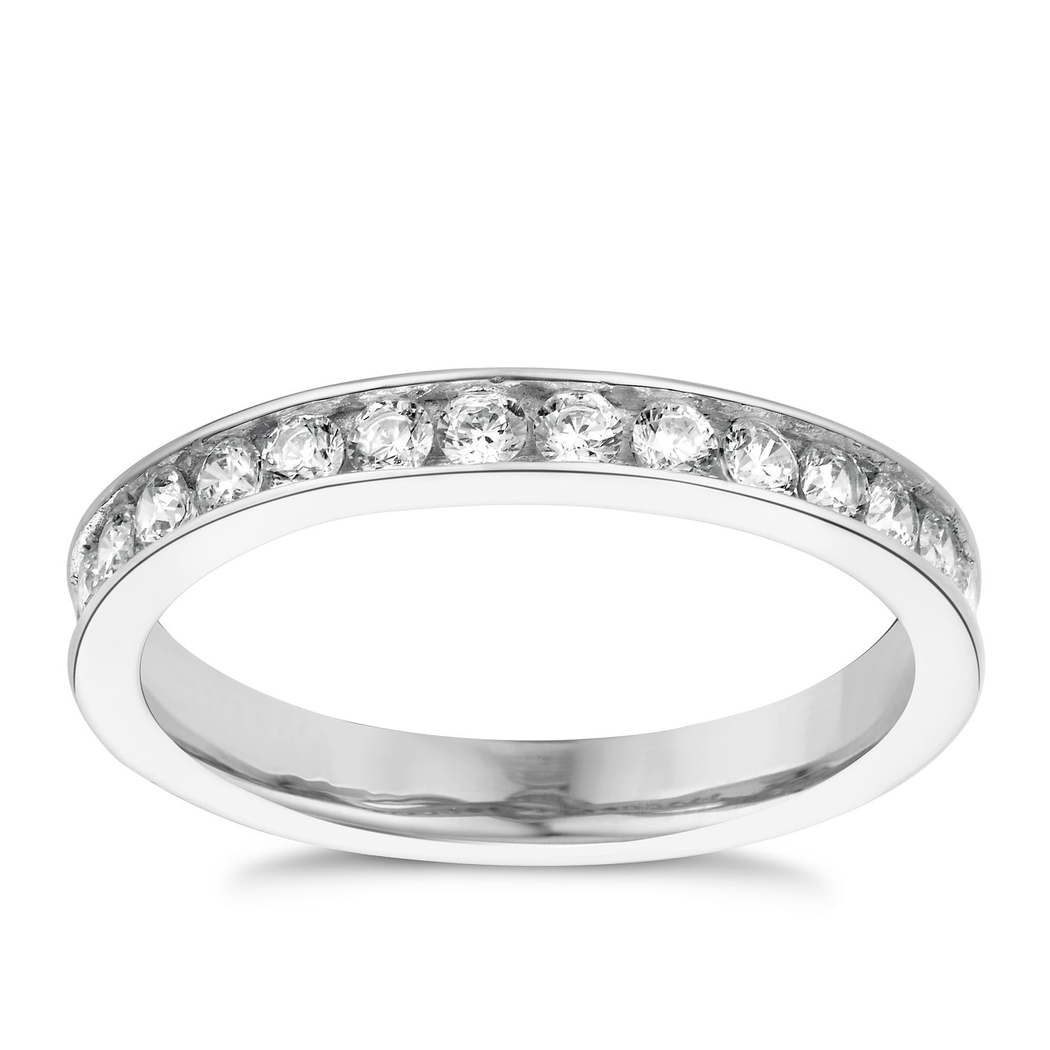 zirconia cubic rose modern band suzy walmart champagne white ip eternity bands sterling com silver and levian