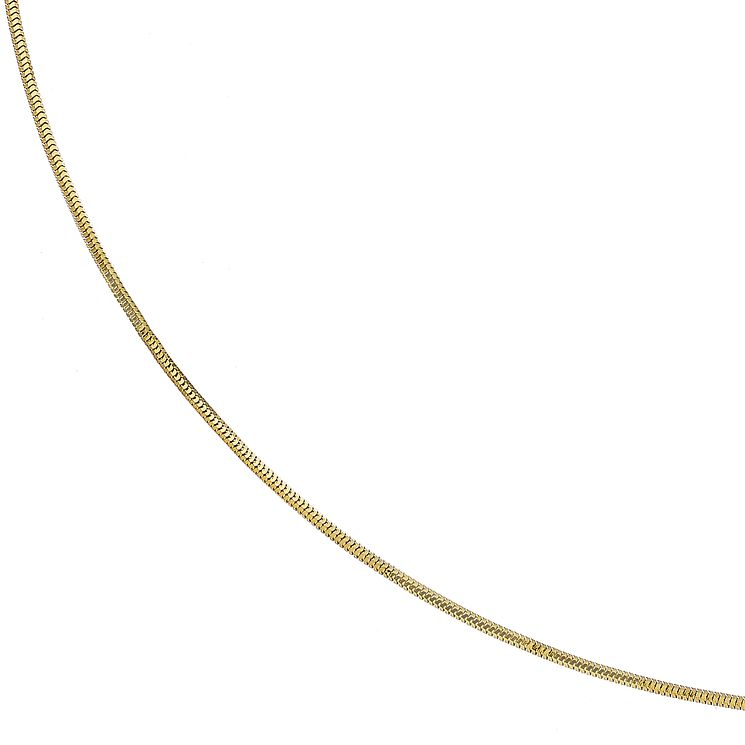 "9ct Yellow Gold 18"" Round Snake Chain - Product number 2966417"