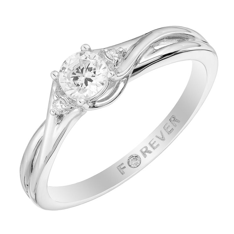 Platinum 0.27 Carat Forever Diamond Ring - Product number 2995913