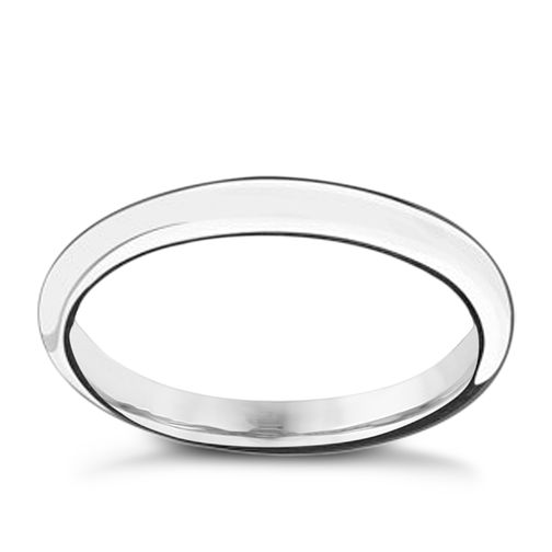 Chamilia Sterling Silver Forever Stacking Ring Small - Product number 3027155