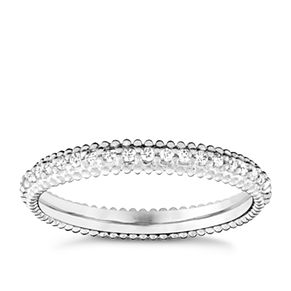 Chamilia Eternity Swarovski Zirconia Stacking Ring Large - Product number 3027392
