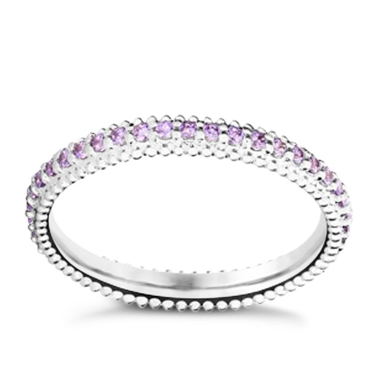 Chamilia Swarovski ZirconiaEternity Stacking Ring Medium - Product number 3027481