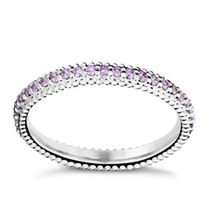 Chamilia Swarovski ZirconiaEternity Stacking Ring Large - Product number 3027503