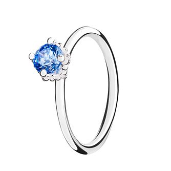 Chamilia Blue Swarovski ZirconiaDiva Stacking Ring Small - Product number 3028976