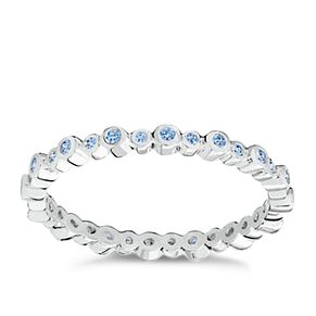 Chamilia Swarovski Zirconia Infinity Stacking Ring Small - Product number 3029778