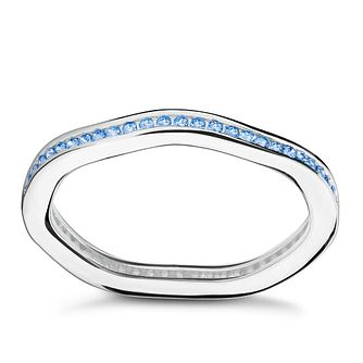 Chamilia Swarovski Zirconia Tranquillity Stacking Ring Med - Product number 3029948