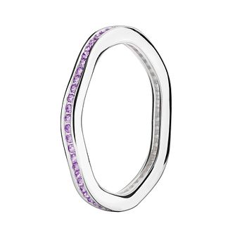 Chamilia Swarovski Zirconia Tranquillity Stacking Ring Large - Product number 3029999