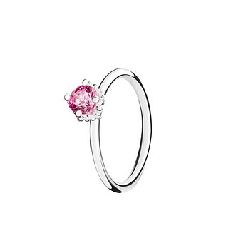Chamilia Diva Solitaire pink zirconia ring small - Product number 3030822
