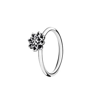 Chamilia Bloom light antique sterling silver ring medium - Product number 3031616