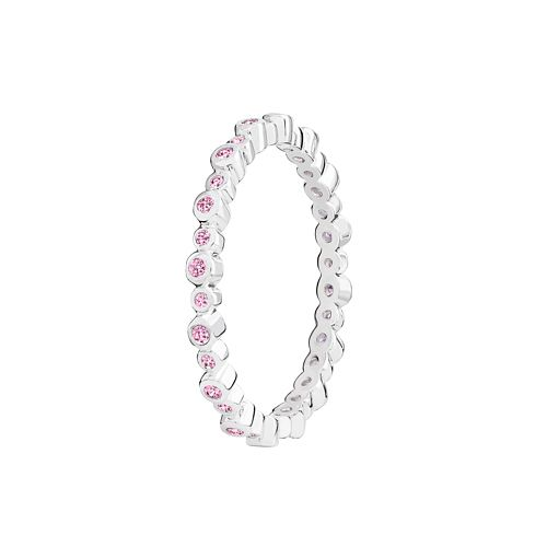 Chamilia Infinity pink Swarovski zirconia ring small - Product number 3032361
