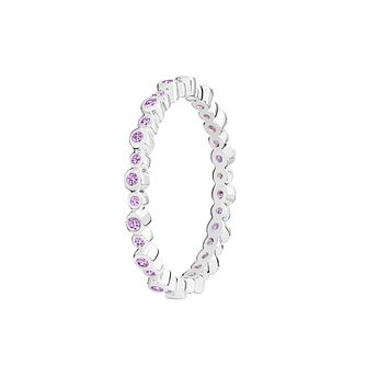 Chamilia Infinity purple Swarovski zirconia ring small - Product number 3033147