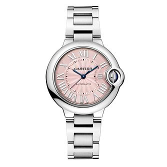 Cartier Ballon Bleu ladies' stainless steel bracelet watch - Product number 3048780