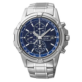 Seiko Conceptual Solar Men's Stainless Steel Bracelet Watch - Product number 3053873