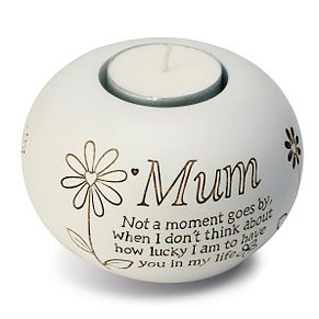 Said With Sentiment Mum Tea Light Candle Holder - Product number 3054039