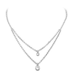 Dyrberg Kern Fulli Sterling Silver Stone Set Necklace - Product number 3055248