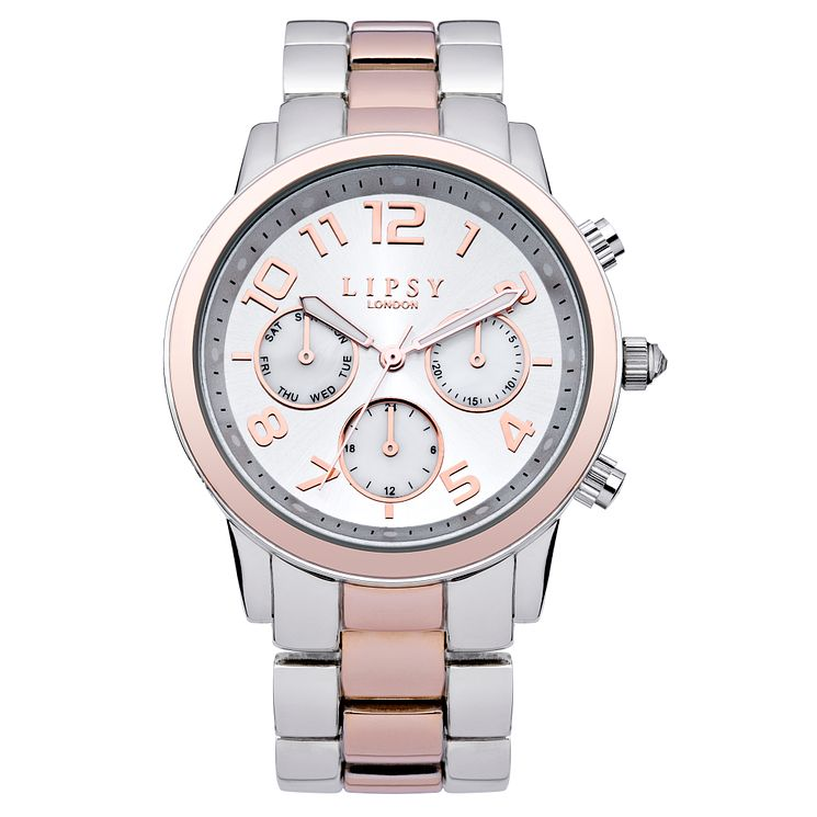 Lipsy Ladies' Two Tone Bracelet Watch - Product number 3060969
