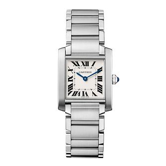 Cartier Tank Francaise Ladies' Bracelet Watch - Product number 3070271