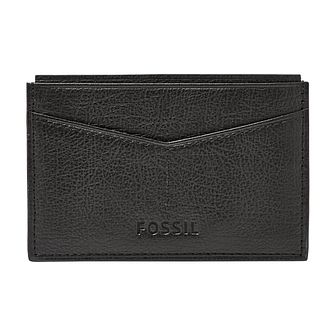 Fossil Omega black leather card case - Product number 3079945