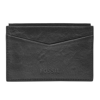 Fossil Ingram black leather card case - Product number 3080315