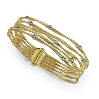 Marco Bicego Marrakech 18ct yellow gold 1ct diamond bracelet - Product number 3086542