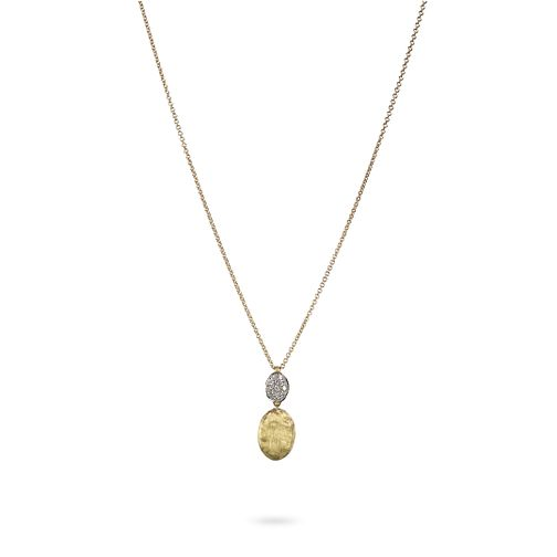 Marco Bicego Siviglia 18ct yellow gold 10pt diamond necklet - Product number 3086569