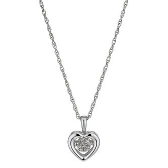 Diamonds in Rhythm Diamond Heart Pendant - Product number 3087174