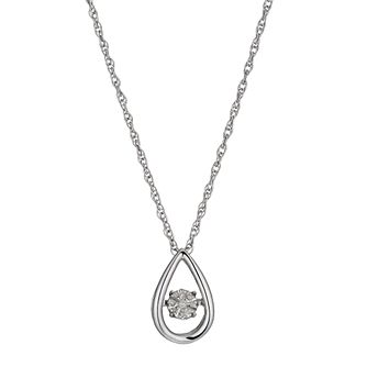 Diamonds in Rhythm Diamond Open Pear Drop Pendant - Product number 3087182