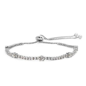 Carat Millennium Brilliants sterling silver slider bracelet - Product number 3094987
